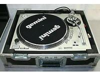 GeminiPt-2000IIIx2. American audio 4 channel mixer 4 mic input. Krk rpg 2 rokit 5 monitors.100+ wax