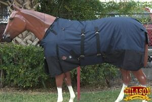 NEW WINTER TURNOUT BLANKET removable BELLY BAND
