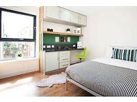 Big en-suite room with own bathroom in West End Glasgow