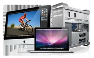 We have laptops and mac refurbished (good condition)