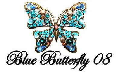 BLUE BUTTERFLY JEWELLERY