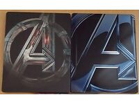 VARIOUS MARVEL STEELBOOKS (£10.00 EACH)