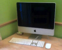 iMac 24inch 3.06Ghz 4GB Ram 250 GB HDD & CS6 master collectionc