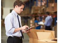Stock controler/electricians Purchasing assistant Junior