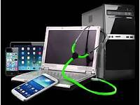 iPhone, iPad, Mac, Laptop, PC Repair Service at your Home or Office. We Fix Same Day at your place.