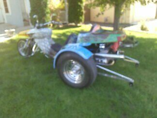 1973 Custom Built Motorcycles trike  1973 VW Trike