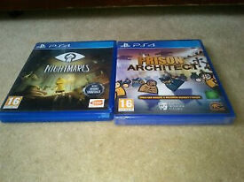 Little Nightmares/Prison Architect PS4 Games for £10