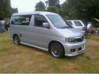 Mazda Bongo Friendee /Ford Freda 2001 campervan day van with drive away awning