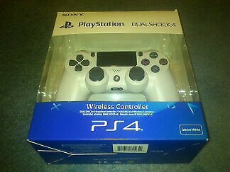 Sony PlayStation DualShock 4 Controller White, V2, BRAND NEW SEALED