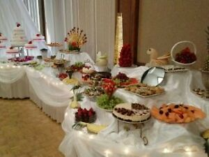 Wedding Cake, Hall decorations ,fruit and dessert table Windsor Region Ontario image 6