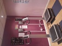 Commercial Flabelos Power Plates & 2 Coin Machines