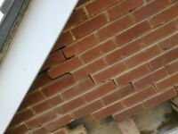 Brick and Stone restoration specialists. Lime work, Stone and Brick Restoration, Structural repairs.