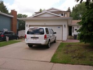 House For Rent in St. Albert - Backing on Ravine