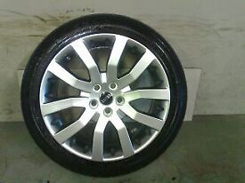 ALLOYS X 4 OF 20 INCH GENUINE RANGEROVER/DISCOVERY/SUPERCHARGED FULLY POWDERCOATED IN SHADOW/CHROME
