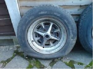 MG Midget wheels North Shore Greater Vancouver Area image 1