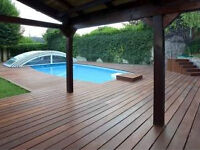 EXOTIC HARDWOOD, ENGINEERED, LAMINATE, DECKING Moulding for sale