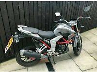 125CC LEXMOTO VENOM VERY LOW MILEAGE