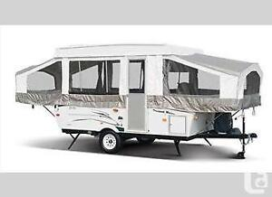 Palomo trailer RV rental, camper for rent, tent trailer for rent