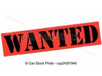 WANTED .....
