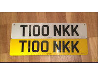 Private Registration T100 NKK