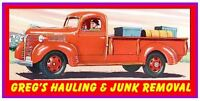 Greg's Hauling And Junk Removal - Serving Kelowna and Area