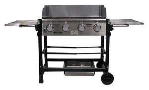 Propane event grill with carry bag