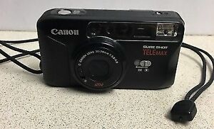 Canon Sure Shot Telemax, Smart AF (autofocus), with manual,case