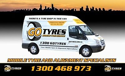 New Tyres - FREE MOBILE TYRE FITTING!
