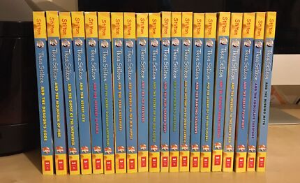 NEW Bundle Of 20 Geronimo Stilton THEA STILTON Books 1-20 Bulk Lot