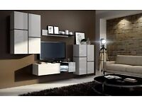 Inbox living room set- 4 pieces- in high gloss-delivery available-perfect condition!