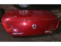 Peugeot 307 Convertible Boot Lid (2006)
