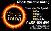 ON-SITE TINTING... CARS FROM $120 LIMITED OFFER BE QUICK! Adelaide City Preview