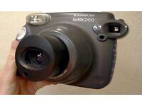 Polaroid camera by Fujifilm