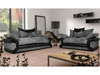 New Sheldon 3&2 sofas with free footstool