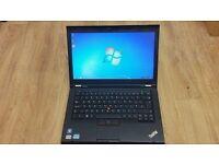 Lenovo IBM Thinkpad T430S T430 laptop 128gb SSD hd 8gb or 16gb ram memory Intel Core i5-3rd gen CPU