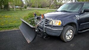 SNOW PLOW --- 2000 Ford F-150 supercab