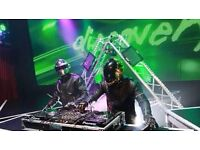 Amazing DJ's for your Party or Corporate Event - Daft Punk and Deadmau5!