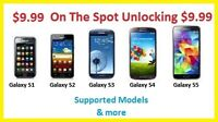 $9.99Instant Samsung Unlock S3 S4 S5 S6 Note2 3 4 Ace Core &MORE