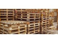 Wooden pallets - used - 8 available - £2 each