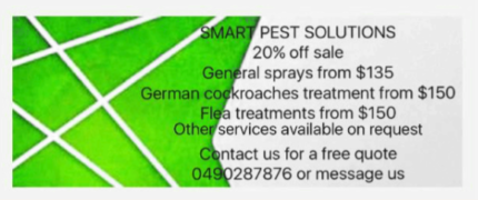 Cheap pest control illawarra cockroaches bugs fleas