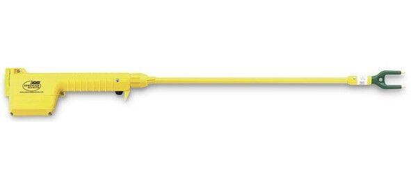 "Magrath Hotshot Prod Cattle Swine Sheep Yellow Complete w/22"" wand & Batteries!"