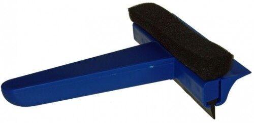Blue Ice Scraper and Squeegee [SQ1] Squib 140mm