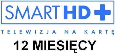 TNK Smart HD+ Doladowanie 12M Telewizja na karte Polska TV Polsat TVN Conax