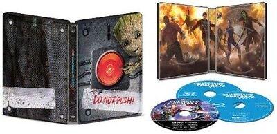 New Sealed Guardians Of The Galaxy Vol  2 Steelbook 4K Uhd   3D   Blu Ray   Dig