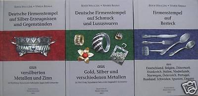 Fachbuchpaket Deutsche Gold- und Silbermarken u.a. 3 Bände WICHTIG STANDARDWERK