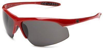 Gargoyles Eyewear Sunglasses Stalker Red Frame with Smoke Lenses Gargoyles Eyewear Sunglasses