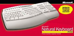 Clavier ergonomique Microsoft Natural Keyboard Pro