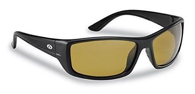 83fb88051f5 Flying Fisherman 7719BY Polarized Sunglasses Buchanan Black Yellow Amber