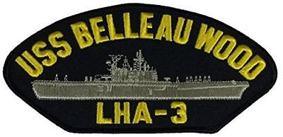 USS BELLEAU WOOD LHA-3 PATCH USN NAVY SHIP DEVIL DOG TARAWA CLASS AMPHIB ASSUALT