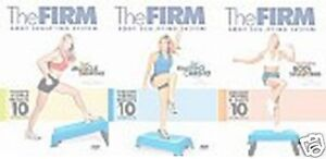 THE FIRM BODY SCULPTING SYSTEM DVD SET Fat Blasting Cardio Complete Total Muscle
